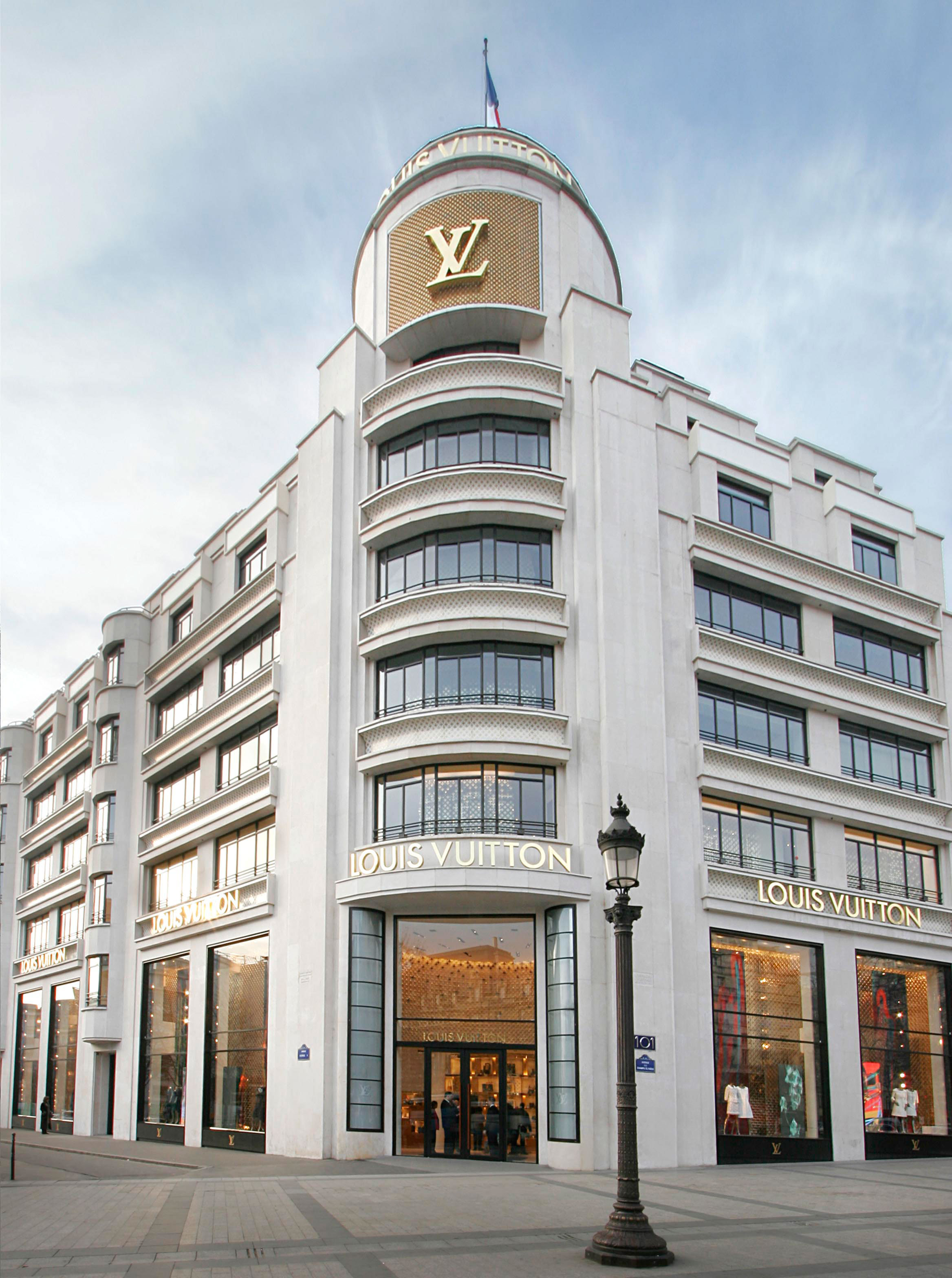135032fe8 LOUIS VUITTON, Champs Elysees, Paris - Carbondale